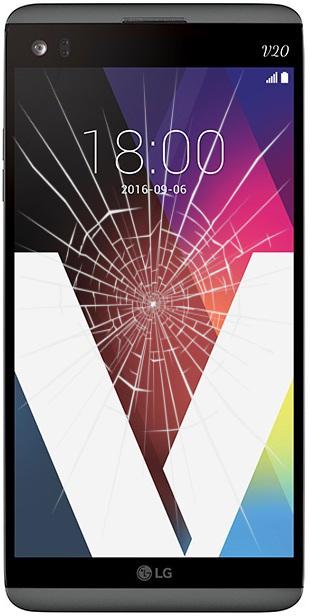 LG V20 glass